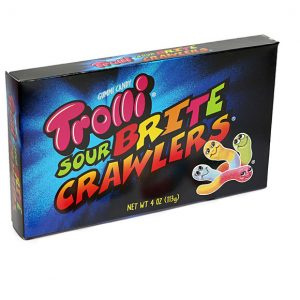 Trolli Sour Brite Crawlers Theatre Box