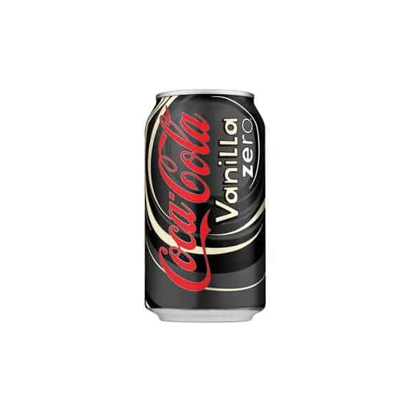 Coca-Cola Vanilla Zero 355mL