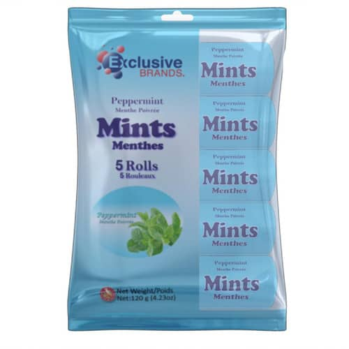 Exclusive Brands Peppermint Rolls