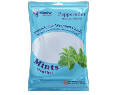 Exclusive Brands Peppermint Bags