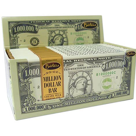 Barton's Million Dollar Chocolate Bar