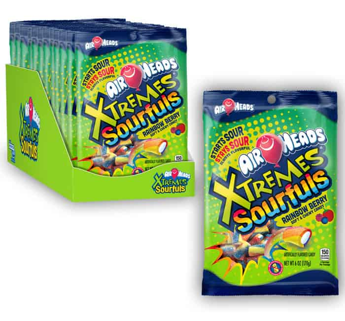 Airheads Xtremes Sourfuls