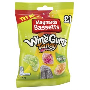 Maynards-Bassetts Tangy Wine Gums