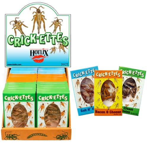 Hotlix Crick-ettes Assorted
