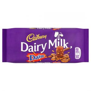 Cadbury Dairy Milk Daim Bar