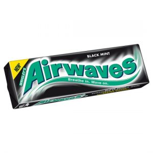 Wrigley Airwaves Black Mint