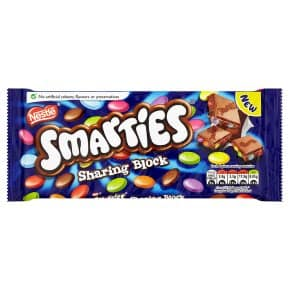Nestle Smarties Sharing Block