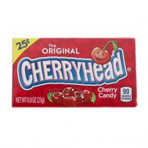 Cherryhead Original Cherry Candy (24 x 23g) Pre-Priced $.25
