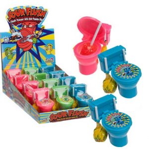 Kidsmania Sour Flush Candy