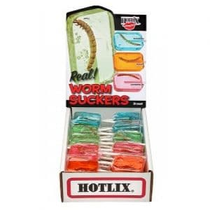 Hotlix Worm Sucker Assorted