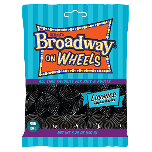 Gerrit's Broadway on Wheels Black Liquorice (12 Count)