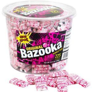 Bazooka Original Gum Tub (225 Count)