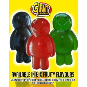 Giant Gummy Jelly Baby 800g (6 Count UK)