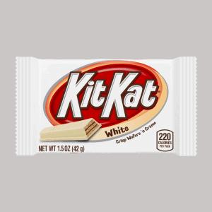Hershey Kit Kat White Standard Size (24 Count )