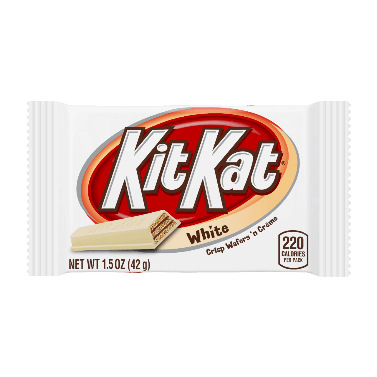 Hershey Kit Kat White Standard Size (24 Count )