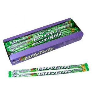 Wonka Laffy Taffy Rope Sour Apple (24 Count) Pre Priced 3/$.99