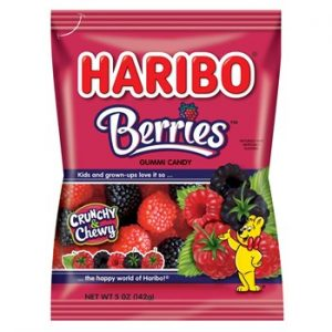 Haribo Berries 5oz (12 Count)