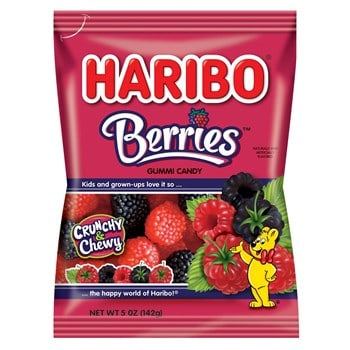 Haribo Berries 5oz (12 Count)