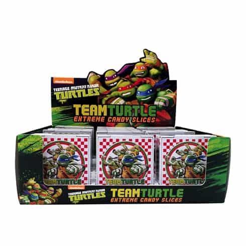 Boston America Teenage Mutant Ninja Turtles Extreme Candy Slice (18 Count)