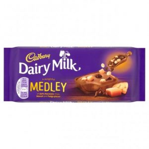 Cadbury Dairy Milk Medley Dark Chocolate and Fudge (15 x 93g)