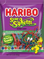 Haribo Sour S'ghetti