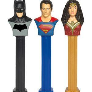 Pez blister batman Superman 6ct