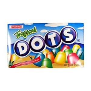 Theater Box Dots Tropical