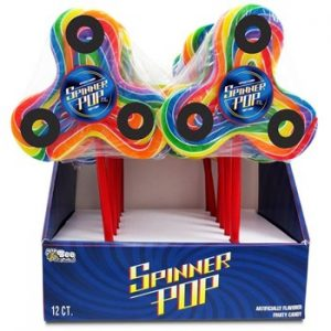 Bee Spinner Pops 12ct