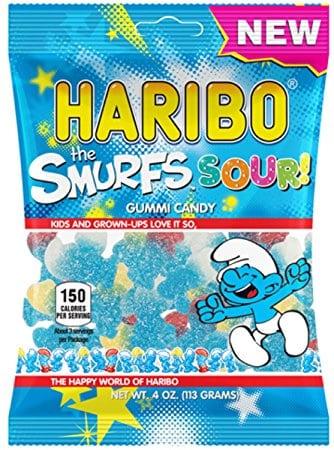 Haribo Sour Smurfs Gummy