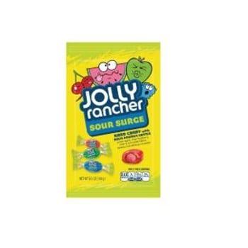 Jolly Rancher Peg Bag Sour Surge Asst 6.5oz 12ct