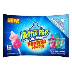 Topps Baby Bottle Pop with Popping Powder 3.20oz