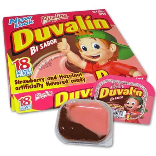 Duvalin Hazelnut Strawberry 18ct