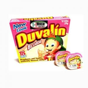 Duvalin Strawberry & Vanilla (18 Count Mexican )