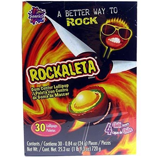 Rockaleta Gum Center Lollipop