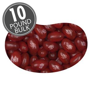 Jelly Belly Raspberry (Bulk 10lb)