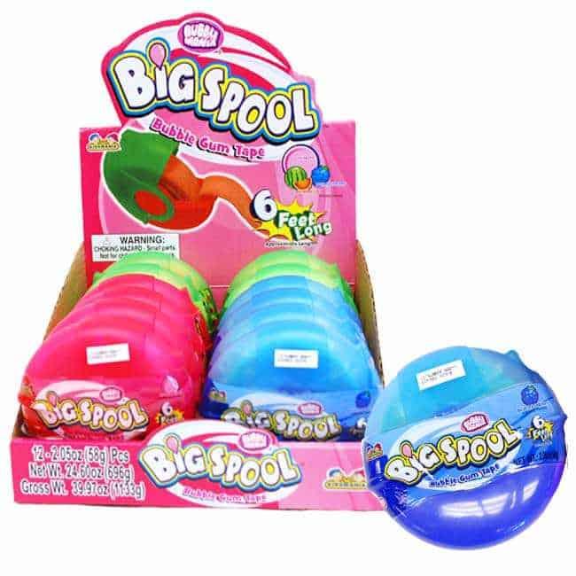 Kidsmania Big spool Bubblegum Tape 12ct