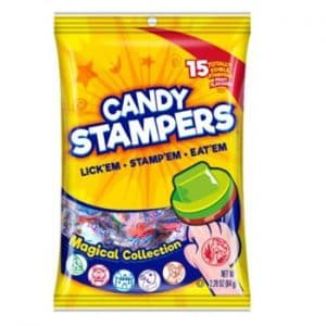 Candy stampers peg bag 12ct