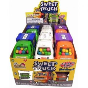 Kidsmania Cone Zone Road Truck w candy12ct