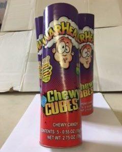"Warhead Chewy Cube 9"""