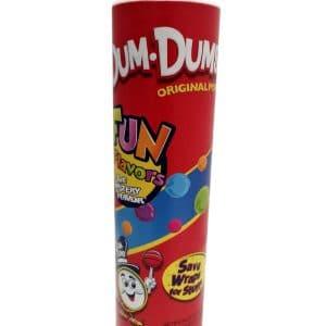 """Mega Dum Dums tube 9"""""""