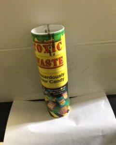 Mega Toxic Waste Sour Candy Tube
