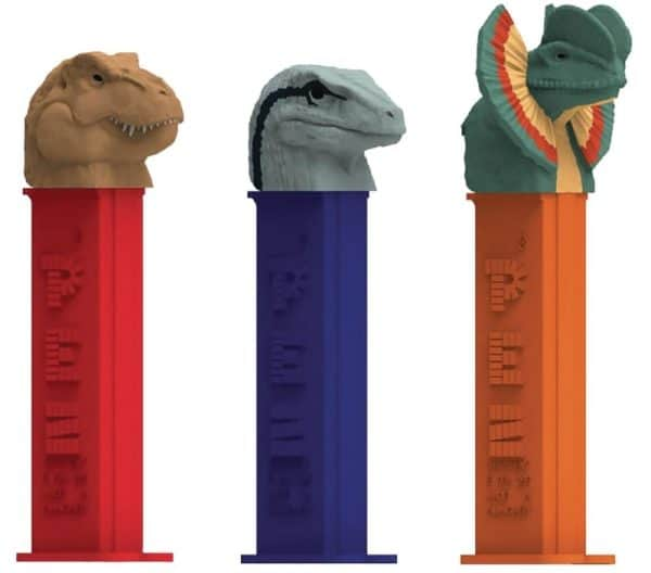 Pez blister Jurassic Assortment