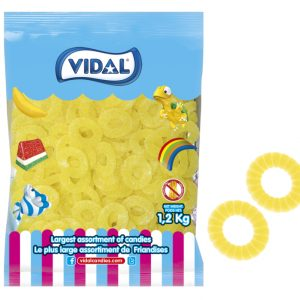 vidal Pineapple Slices 1.2kg