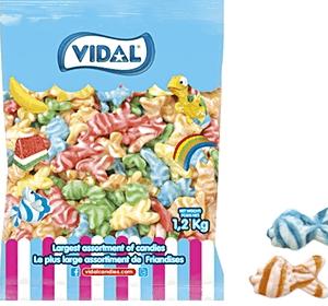 Vidal swirly fish 1.2KG