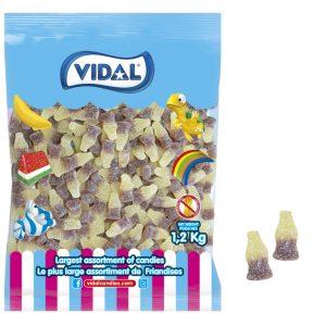 Vidal Sour Cola Gummy Bottle 1.2 kg