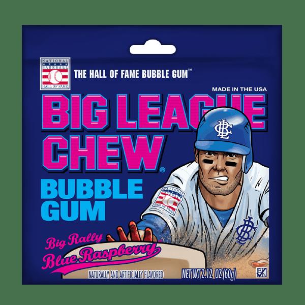 Big League Chew Blue Raspberry 12ct