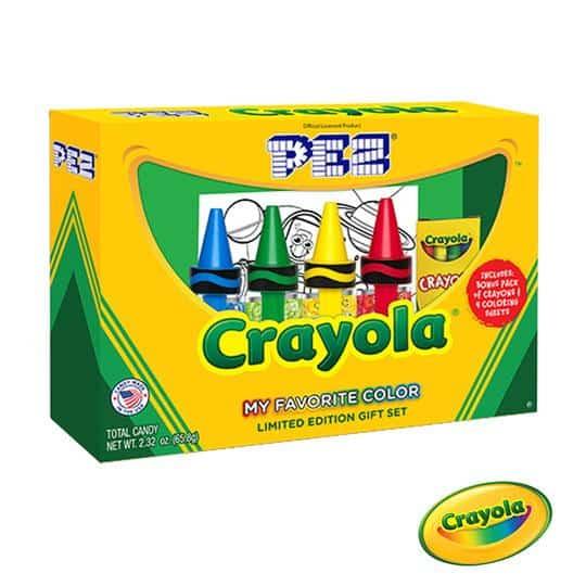 pez Gift Set Crayola