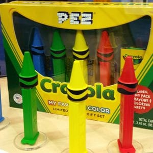 Pez Crayola Gift Set