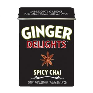 Ginger Delight Spicy Chai 12CT
