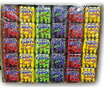 Canel's Gum 4 pack Fruity